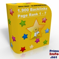 �ber 1.900 Backlinks PR 1-7