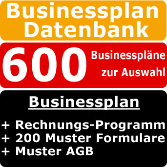 Business Plan Bildender K�nstler